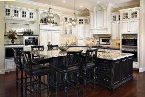 Eksklusivt kjøkken i sort